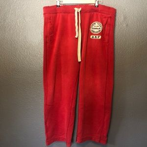 Abercrombie and Fitch Heavy sweatpants in XL